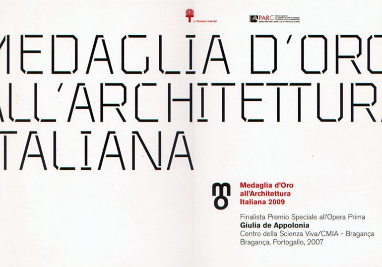 2007 medaglia d'oro giulia braganca